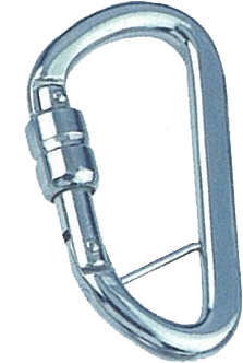 SPRING HOOK WITH SELF-LOCKING SLEEVE AND BAR