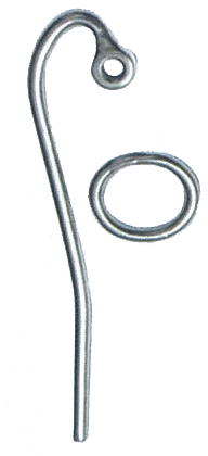SLIP HOOK  WITH RING