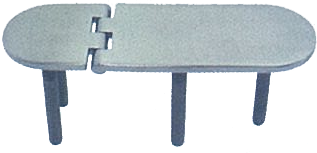 HINGE WITH THREAD- CAST