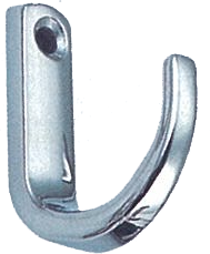 COAT HOOK, POLISHED