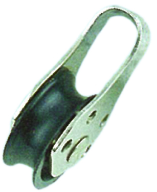 PULLEY BLOCK TYPE A (PIN RIVET) NYLON SHEAVE