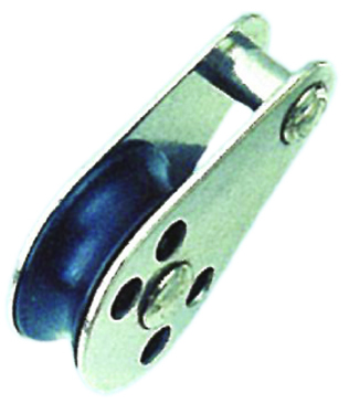 PULLEY BLOCK TYPE B (PIN RIVET)  NYLON SHEAVE