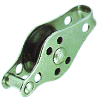 PULLEY BLOCK TYPE F (WITH BRACKET AND  PIN RIVET) NYLON SHEAVE