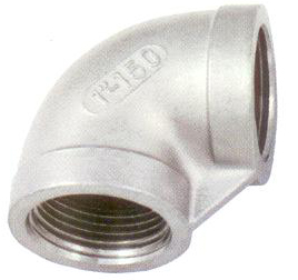 90° ELBOW, INVESTMENT CASTING