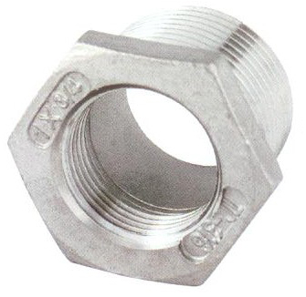 REDUCER M/F , INVESTMENT CASTING