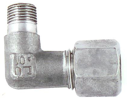 EDGE MIDDLE ELBOW PIPE FITTING
